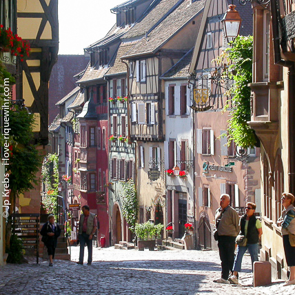 Riquewihr is one of the prettiest villages in France and is just a 30 minutes drive away from La Vancelle